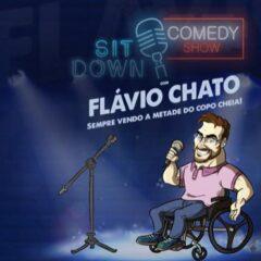 Primeiro solo de humor de Flávio Chato chega em VALINHOS na sexta-feira (30)