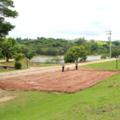 VINHEDO: Represa I começa a receber obras de quadras de areia e basquete