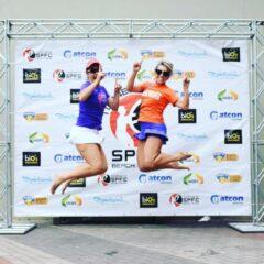REGIÃO: Atleta de VINHEDO é campeã de beach tennis