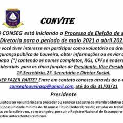 LOUVEIRA: Eleições do Conselho de Segurança  – população pode participar