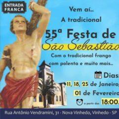 REGIÃO: LOUVEIRA e VALINHOS celebram o dia do padroeiro nesta segunda (20)